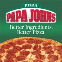 Papa Johns Better Ingredients, Better Pizza Franchise