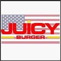JUICY BURGER-100% HARRIS RANCH BEEF Juicy  Burger